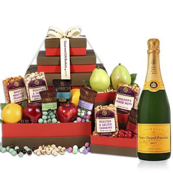 Geburtstag-Geschenkkörbe Lieferung an Österreich